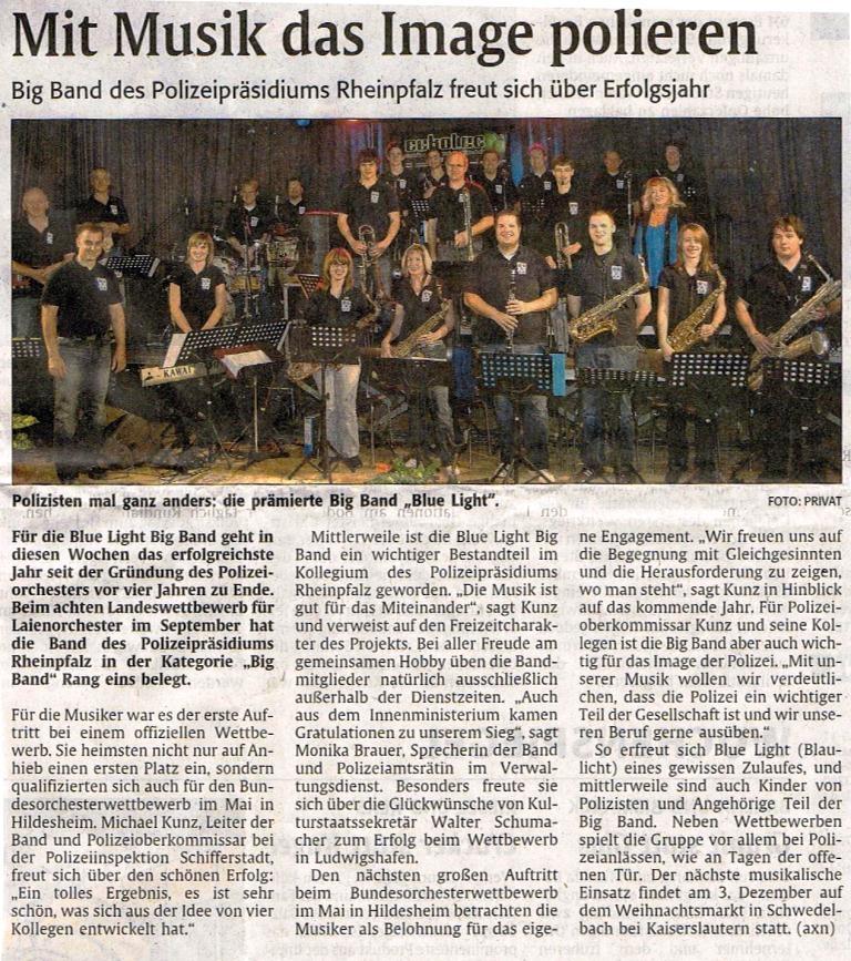 presse blaulicht westpfalz